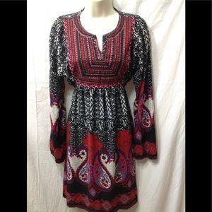 Women's size Large ANGIE bohemian-style dress